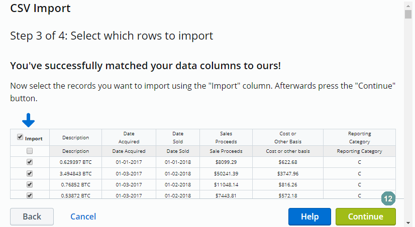 How To Import In To TaxAct? – Bitcoin Taxes